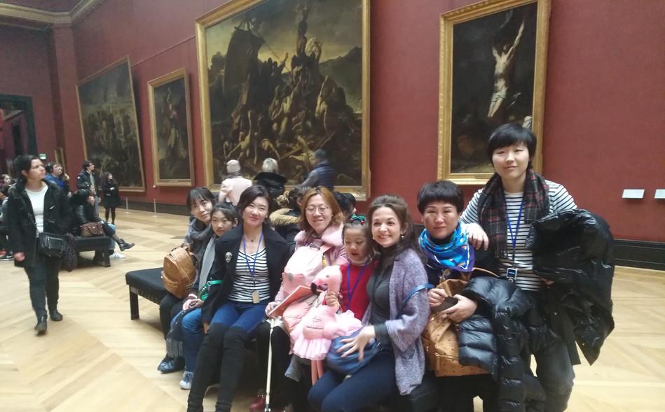 卢浮宫浪漫主义油画