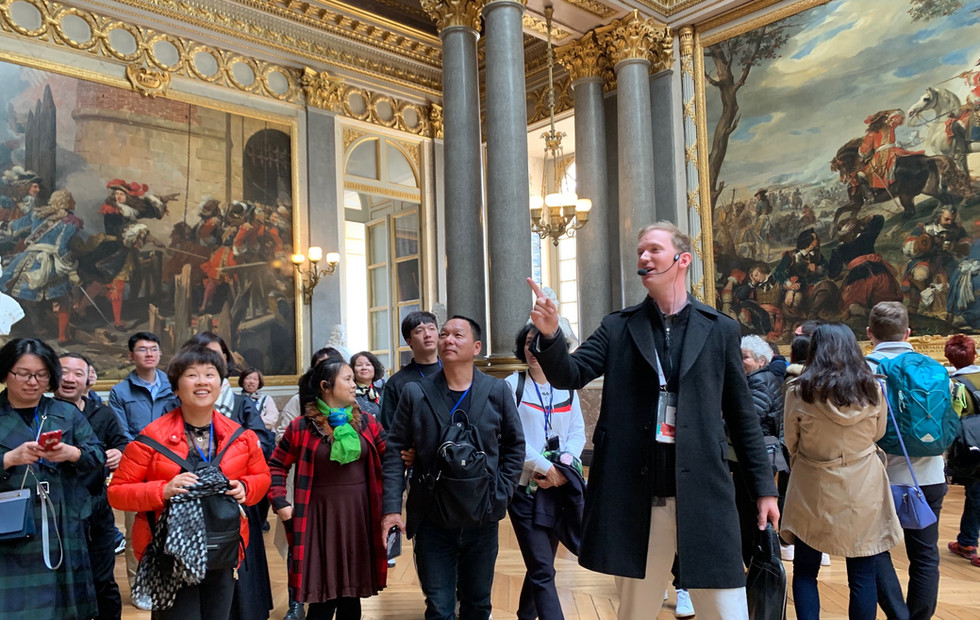 Visite de Versailles