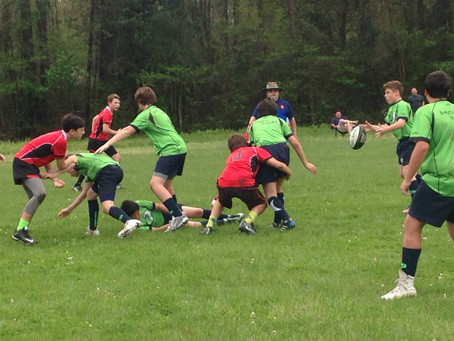 Middle School Rugby - First Contact Matches