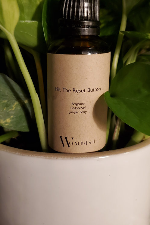 Essential Oil Blend: Hit The Reset Button