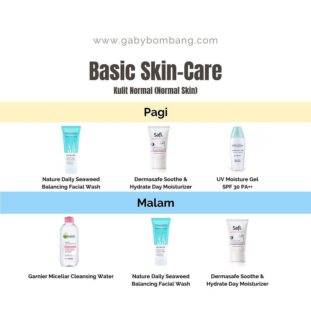 Basic Skincare untuk kulit normal