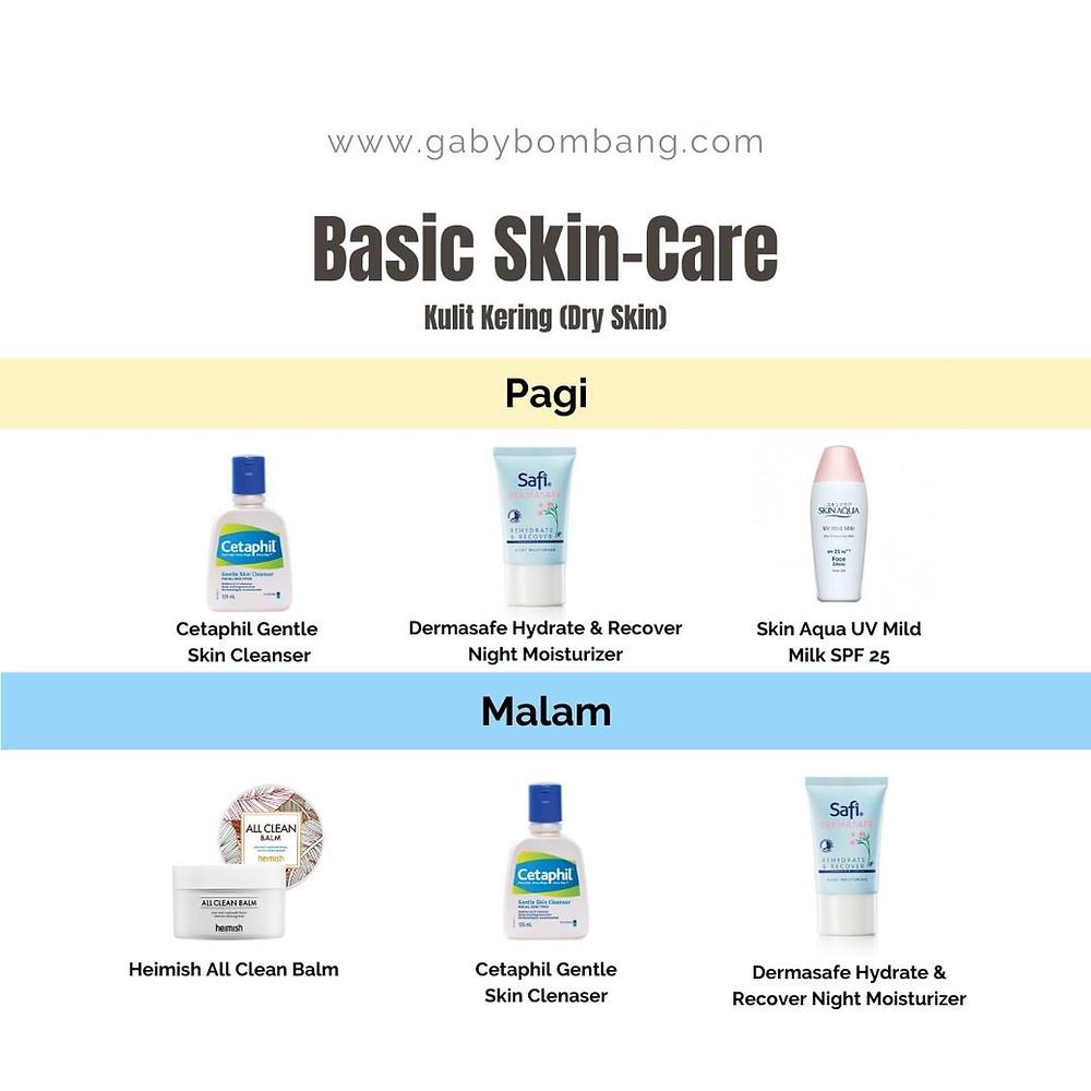 Basic Skincare untuk kulit kering