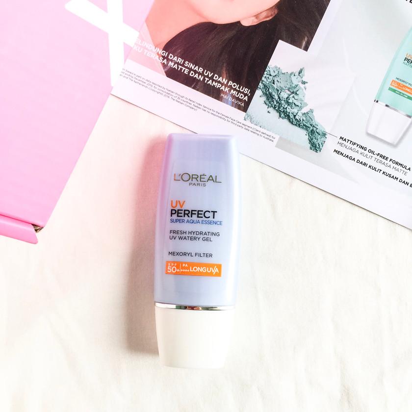Review UV Perfect Aqua Essence SPF50 Indonesia