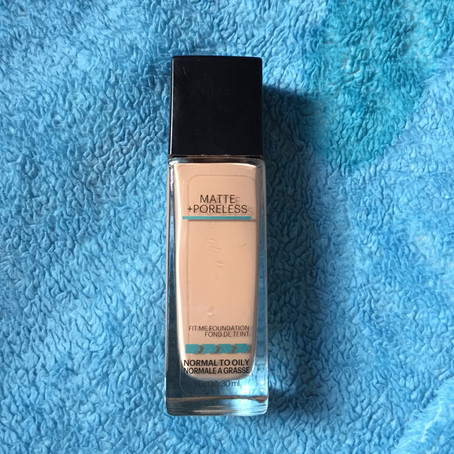 REVIEW: Maybelline Fit Me! Matte Poreless Foundation