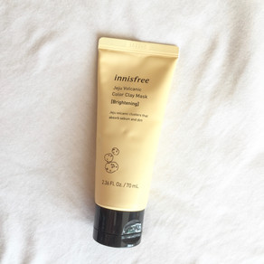 REVIEW: Innisfree Jeju Volcanic Color Clay Mask - Yellow Brightening