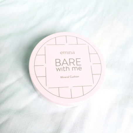 REVIEW: Emina Bare With Me Mineral Cushion