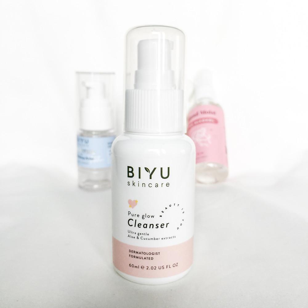 Review BIYU Pure Glow Cleanser