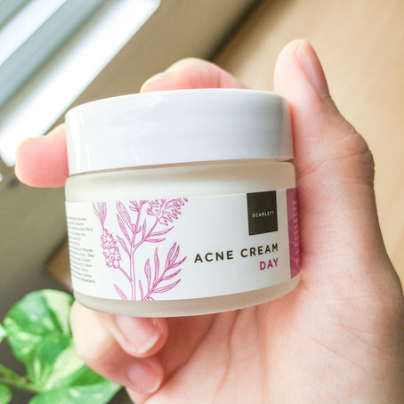 REVIEW: Scarlett Whitening Acne Cream & Brightly Ever After Cream (Day & Night)