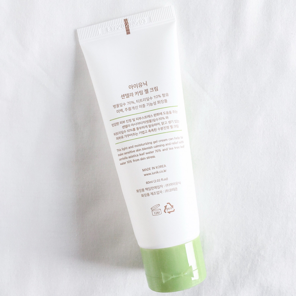 Review Centella Calming Gel Cream Indonesia
