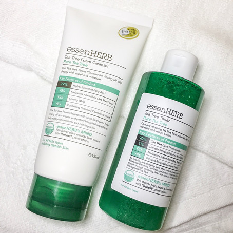 REVIEW: essenHERB Tea Tree Foam Cleanser & Toner