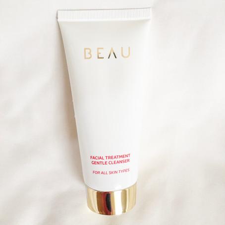 REVIEW: BEAU Facial Treatment Gentle Cleanser