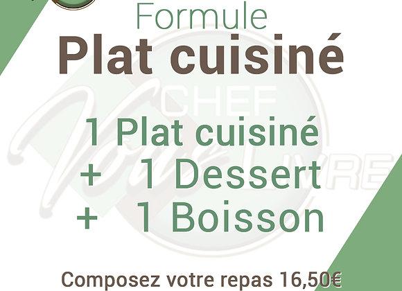 Formule Plats cuisinés
