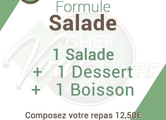 Formule Salades