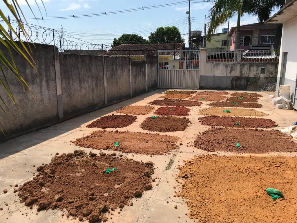 Secagem de solos