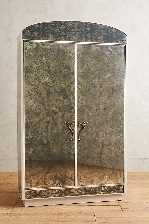 Fontaine Mirrored Armoire from Anthropologie
