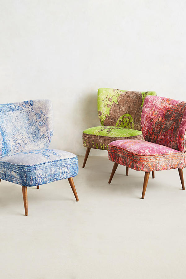 Accent colours for occasional chairs