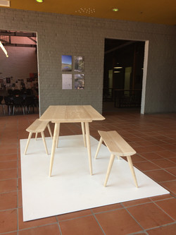 Traces table and benches