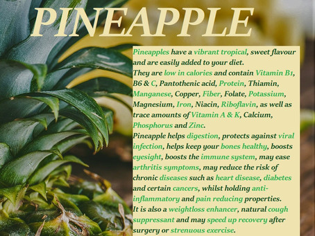 Pineapple Facts...