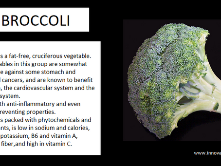 Benefits Of Broccoli...