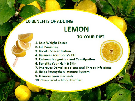 What lemons can do for you...