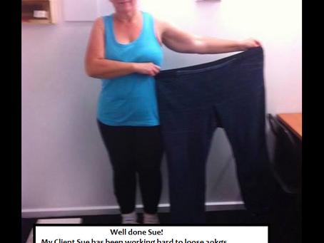 Congratulations Down 20kgs....