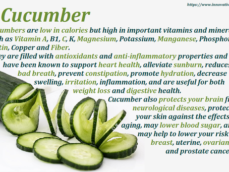 Cucumber Facts...