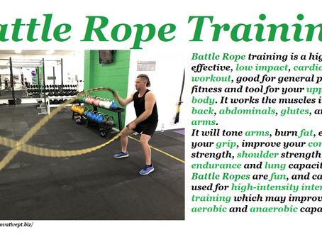 Battle Rope Training...