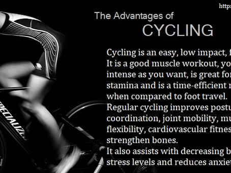 What Regular Cycling Do For You...