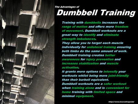 The Advantages Of Dumbbell Training...