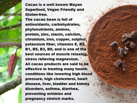 Cacao The Mayan Superfood...