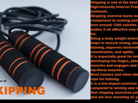 Benefits Of Regular Skipping...