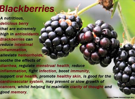 Blackberry Facts...