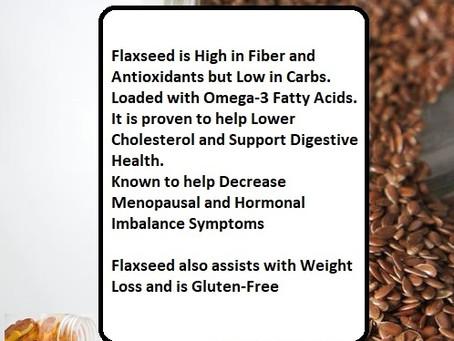 Benefits Flaxseed Oil...