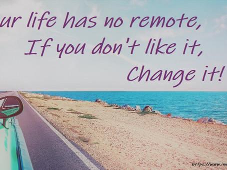 No Remote, No Problem...