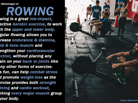 The Advantages Of Rowing...