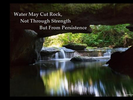 Strength through persistence...