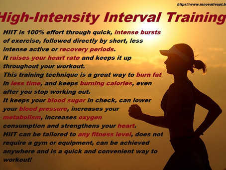 What Is HIIT?..