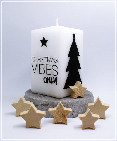 """Kerze """"Christmas Vibes"""""""