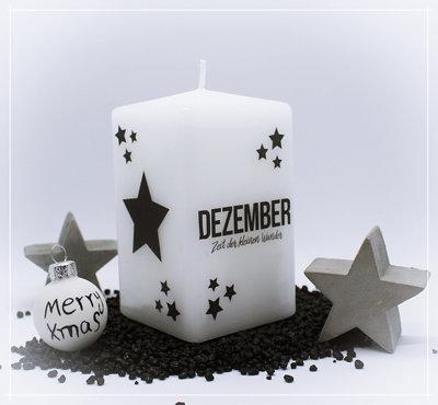 "Kerze ""Dezember Wunder"""