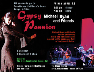 """Gypsy Passion""                                  Michael Ryan and Friends"
