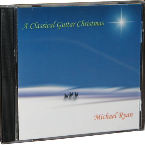 Autographed A Classical Guitar Christmas CD