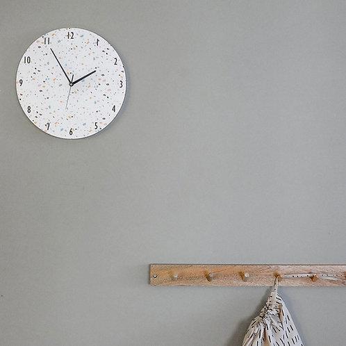 שעון טרצו לבן-צבעוני