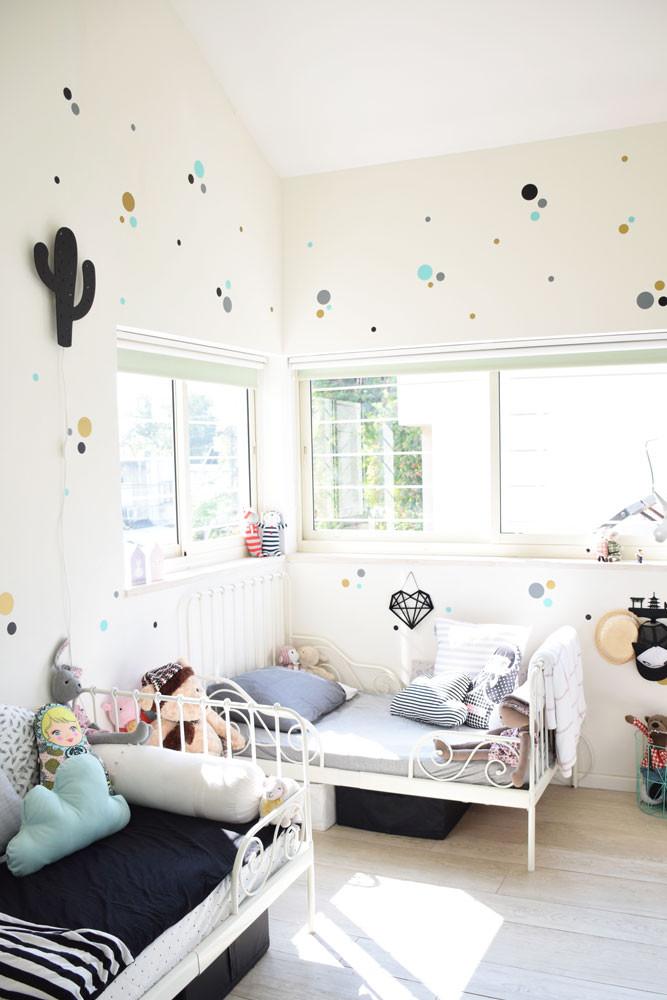 קיטה קידס חדר ילדים מנורת לילה מדבקות קיר