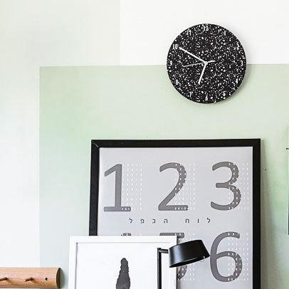 שעון טרצו שחור