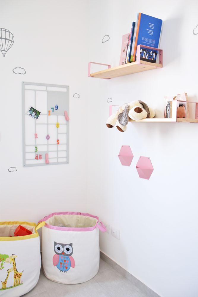 מדפים לחדרי ילדים