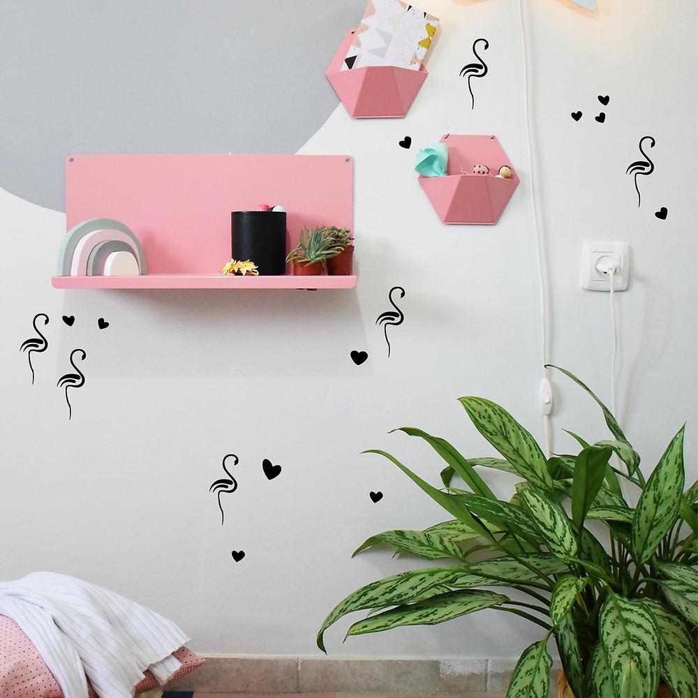 מדף מעוצב לחדר ילדים קיטה קידס