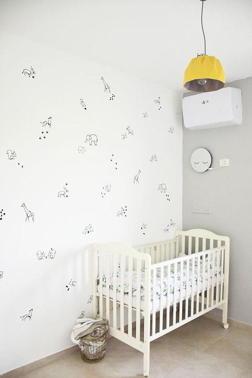 עיצוב פינת שינה לתינוק