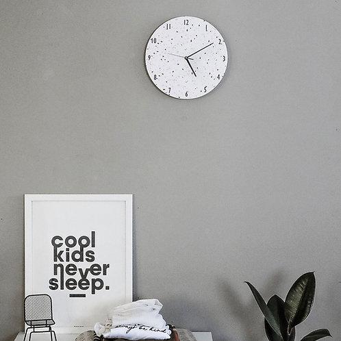 שעון טרצו לבן-ורוד