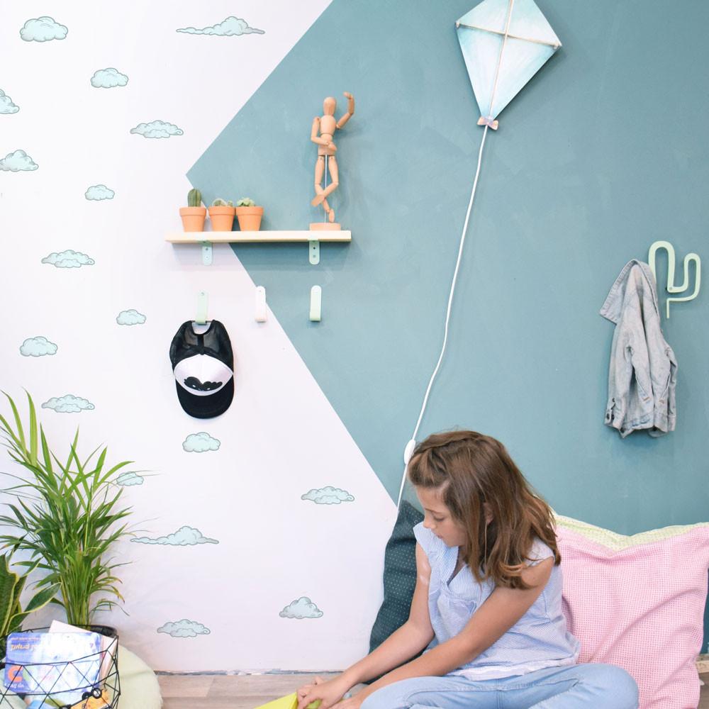 מנורת לילה רשת השראה מדפים לעיצוב חדרי ילדים קיטה קידס