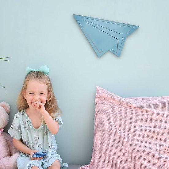 מנורת מטוס נייר